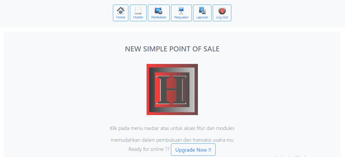 APP online point of sale shop store software