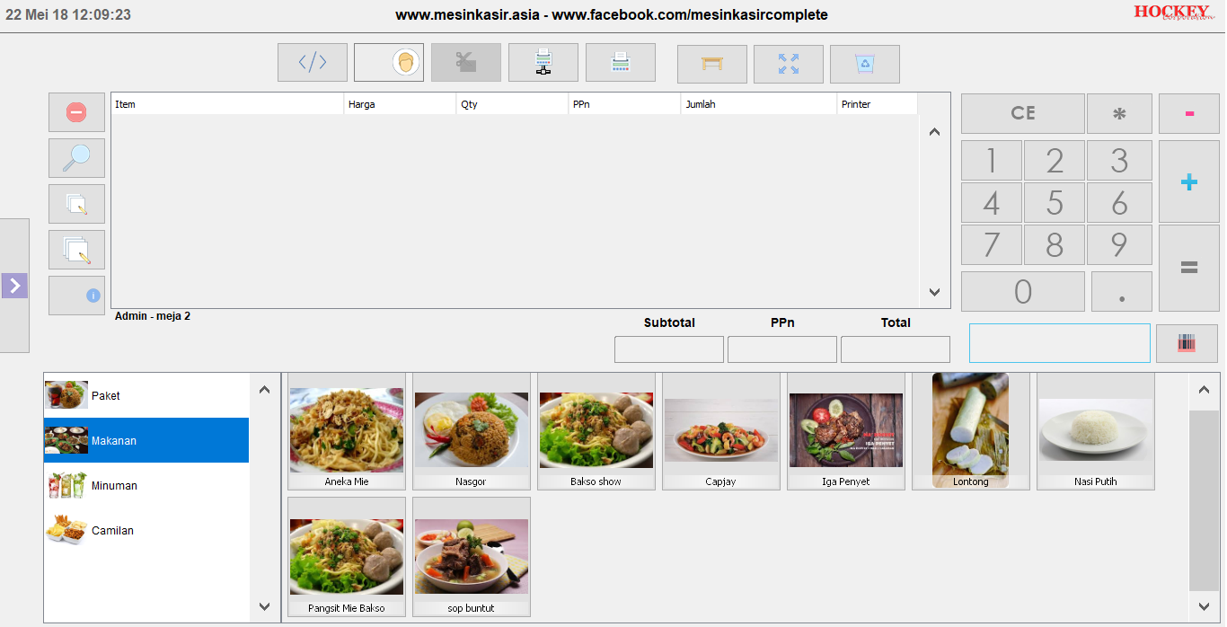 restaurant app fastfood software