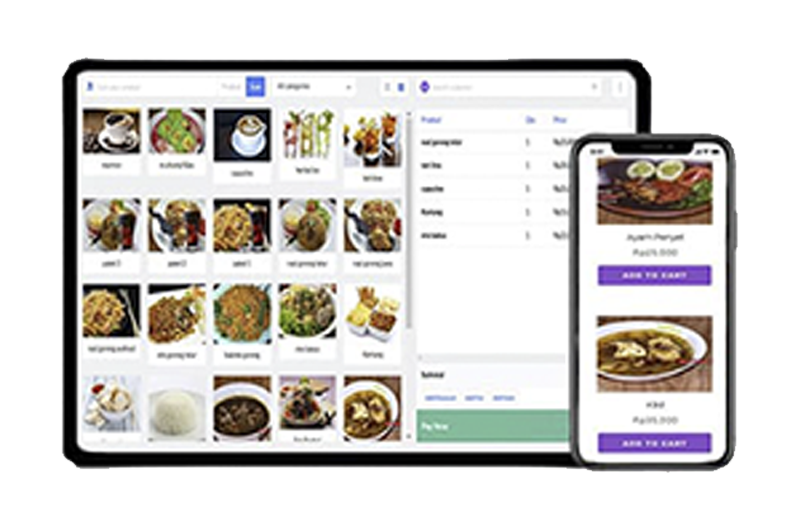 pos RESTAURANT  application,software point of sale fo restaurant food