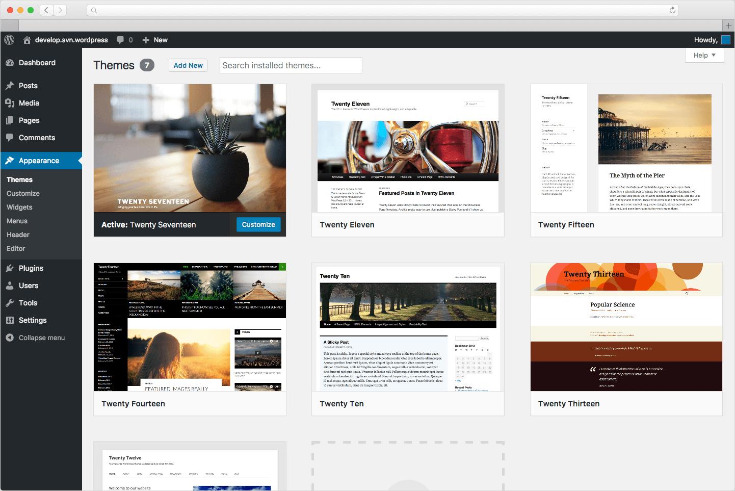 pembuatan website wordpress